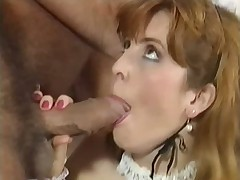 American Busty threesome with German dubbing