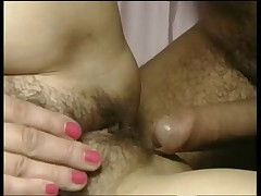 German dude fucks a nice hairy mature