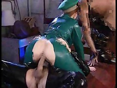 Military Latex Fetish Fuckers (with Commentary)