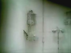 Asian mom in the shower 4