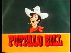 Vintage 70s german - Puffalo Bill - Schwaenze, Moesen, blaue Bohnen - cc79
