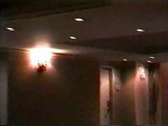 Blonde fucked by security guard in a hotel!!! (Cuckold)