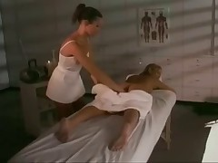 Terri Summers in lesbo massage