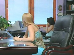 Jo and Veronika : Sex at the office.
