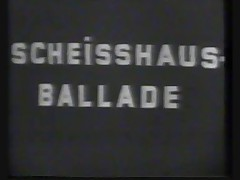 Scheisshaus Ballade (b and w)