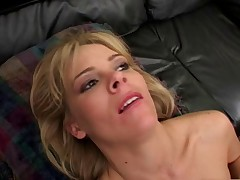 Keri Windsor gives a dirty BJ in the office.