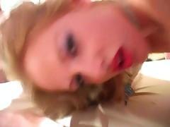 Blond British Girl Gangbanged - Cireman