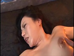Japanese column compelled and bestial molested refuse