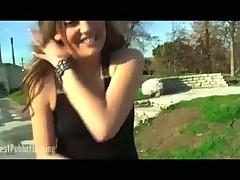 Nikki Rhodes Stuts Her Stuff In Public