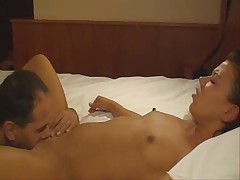 Hotty fucks her boyfreind in ass - german - csm
