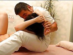 Spycam Girl Fucked during health massage Part 2