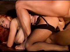 Hot italian mom loves to get both holes stuffed