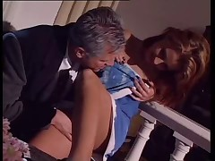 Maria Bellucci fucks end with a foothob