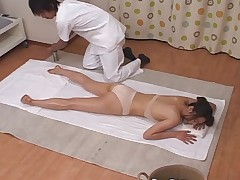Sweltering Japanese Wives Massaged and erratically Fucked at Digs 1 - CM