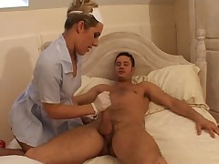 Sex nurse in ff stockings