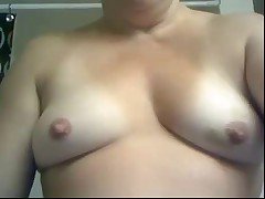 Horny milf   shower and real cum time