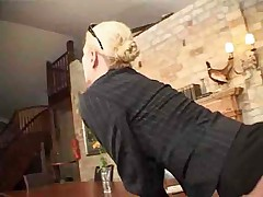 German milf pay the gardener