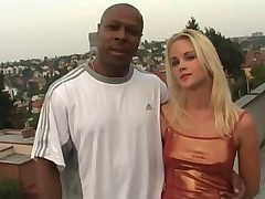 18 years old Sandy Saint takes Mark Anthony's BBC