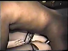 BBW Mature wife takes on BBC, hubby films and coaches