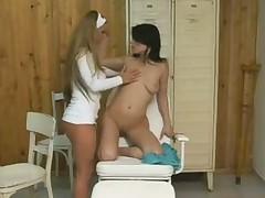 Lesbian nurse