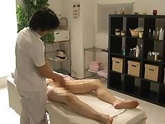 Massage Model surprising fuck