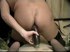 Fuck Vegetable Hare Ass Insertion 2 Cell Phone Anal Hole