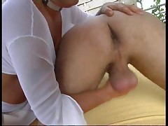Asslicking handjob - german - csm