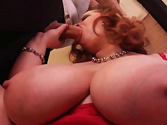 Gets Her Huge Natural Tits