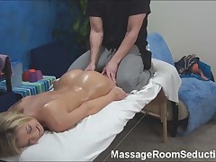 Horny Teen Gets Happy Ending Massage!