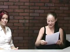 Jerky office girls