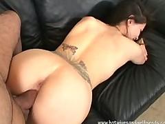 Tia Kush Hot Girlfriend Cumshot on her Pussy