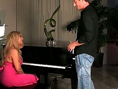 Heather Summers Fucks the Shit Out of her Piano Teacher