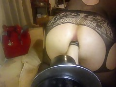 Big Dildo In the Ass By S54