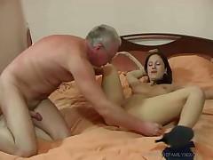 Old man and his nurse - Rayra