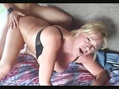 Chris's College Cock Run's Extremely Deep In His Teacher, Mrs. Morgan's,Ravaged Bottomless Meat Pie.