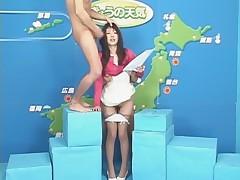 The Japanese weather program bukkake