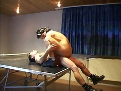 Fucked at the table-tennis - german - csm