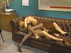 Patricia Kennedy and Rebecca Wild - Vintage Lezzy Sex