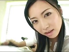 Japan girl lick sperm