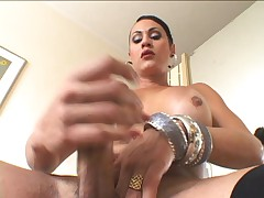 Yummy tranny big load