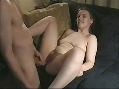 Sexy amateur nerd gets some dick