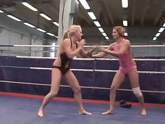Lesbian Nude Fight Club 6