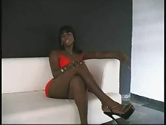 Black Tranny Threesome
