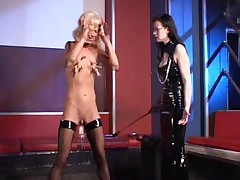 German Mistress and tiny Slave girl 2