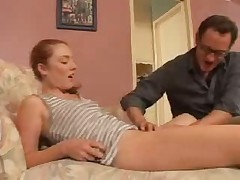 Ginger Teen Babysitter Fucks Sucks And Swallows