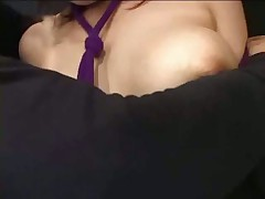 Handsfree Lactation with bound boobs