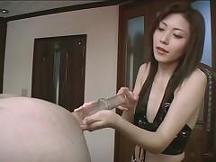 Femdom Enema With Prostate Massage