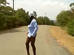 Tranny hitcher, oldie but goodie