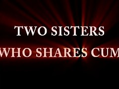 Sister shared cum