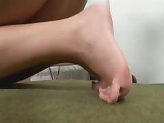 Sport feet worship